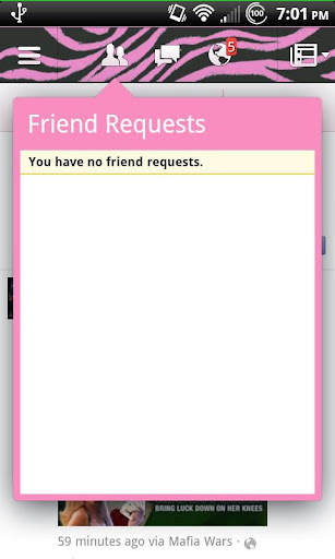 Pink Zebra 2.0 for Facebook - screenshot