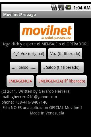 Movilnet Venezuela Prepago