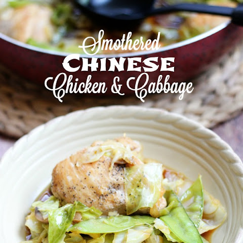 Smothered Chinese Chicken & Cabbage