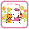 Hello Kitty Sunflower Theme icon