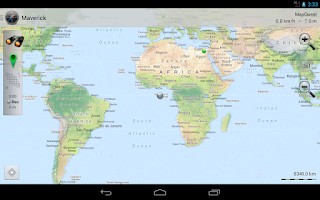 Screenshot of Maverick: GPS Navigation