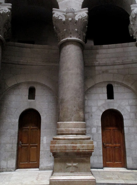 Church of the Holy Sepulchre Column