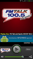 Screenshot of FM Talk 100.5