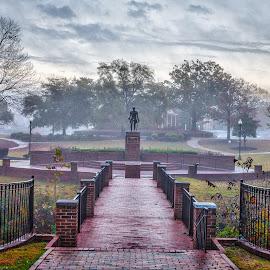 Lafayette Park by Lou Plummer - City,  Street & Park  City Parks ( fayetteville )