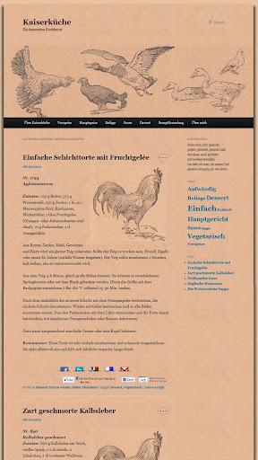 Kaiserküche Pro - Kochbuch