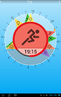 Screenshot of Solar Clock: Circadian Rhythm