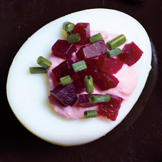 Deviled Eggs and Pickled Beets