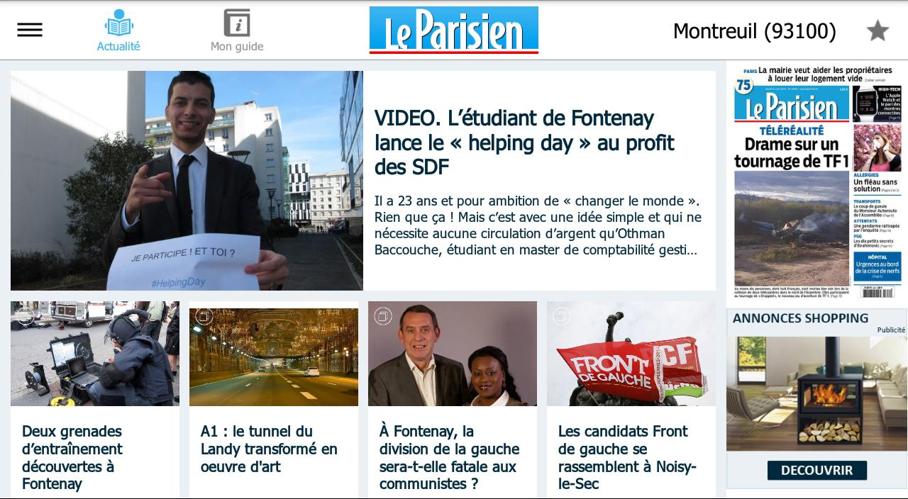Le Parisien Ma Ville - Info Screenshot 5