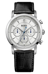 BOSS HUGO BOSS 'Classic' Round Chronograph Watch, 40mm