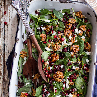 Winter Salad with Maple Candied Walnuts + Balsamic Fig Dressing (+ a BIG GIVEAWAY).