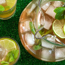 Mint and Lime Iced Tea Recipe