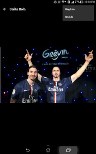 Berita Bola- screenshot thumbnail