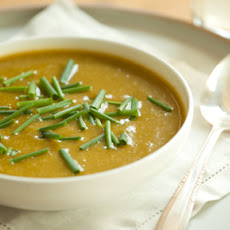 Spring Asparagus and Broccoli Soup