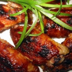 Oven-Barbecued Chicken Wings