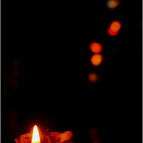 Diwali Shine. by Souvik Kundu - Abstract Fire & Fireworks ( dark background, shine, bokeh, light, fire )