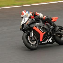 Motorbike racing by Dirk Luus - Sports & Fitness Motorsports ( motorbike, speed, racing, motorcycle, sport )