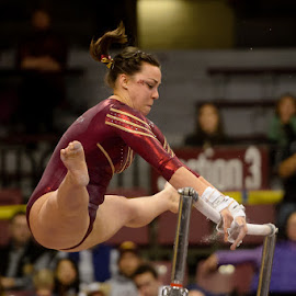 W. Gymnastics  - Michigan State at Minnesota by David Drufke - Sports & Fitness Other Sports ( ncaa, kayla slechta, sports, sport, gopher gymnastics, university of minnesota, big ten, gymnastics, women's gymnastics )