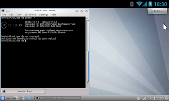 Screenshot of Linux Deploy