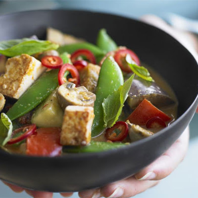 Veggie Thai red curry