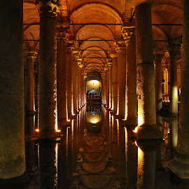 ancient underground reservoir by Almas Bavcic - Buildings & Architecture Other Interior