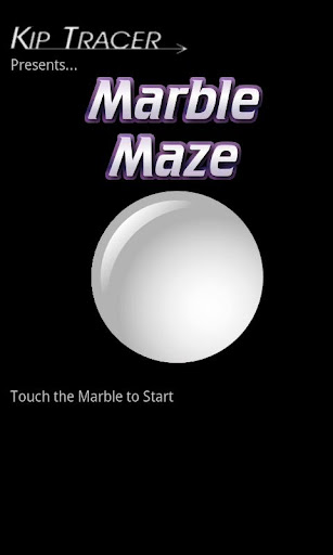 Marble Maze Trial