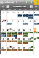 Screenshot of Checkmark All in One Calendar