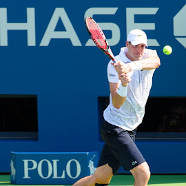 John Isner by David Freese - Sports & Fitness Tennis ( john isner, tennis, us open )
