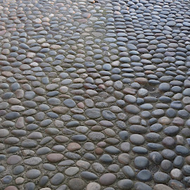 Texture2 by Michael Hourigan - Abstract Patterns ( color, texture, galway, path, cobblestone,  )