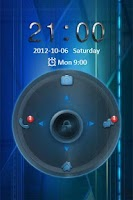 Screenshot of Oblivion Go Locker Theme