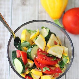 Cucumber And Summer Squash Salad Recipes