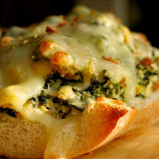 French Bread Pizza Rustica