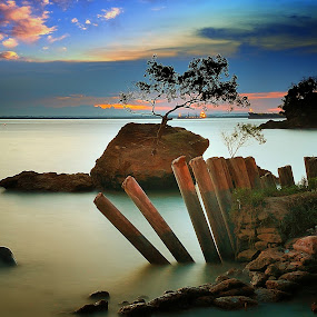 melawai beach by Rhonny Dayusasono - Landscapes Beaches