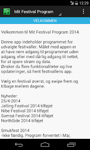 Mit Festival Program - screenshot