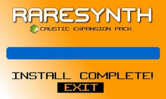 Screenshot of BASSFX Free Caustic pack