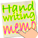 Handwritten notes Finger Memo icon