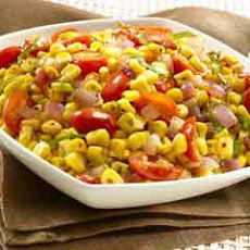 Balsamic Corn & Tomato Relish