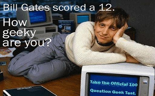 The Geek Test