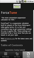 Screenshot of ForzaTune 4
