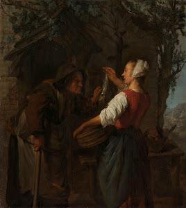 RIJKS: Gabriël Metsu: painting 1662