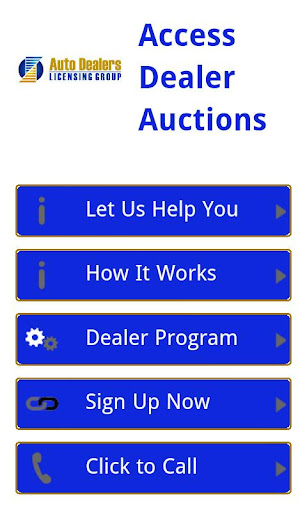Access Car Dealer Auctions