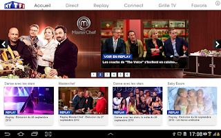 Screenshot of MYTF1