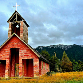 Old Church along the border of Argentina and Chile by Tyrell Heaton - Instagram & Mobile iPhone ( church, iphone )