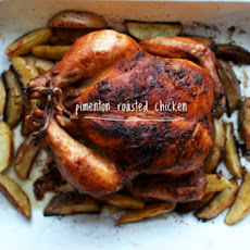 Pimentón Roasted Chicken and Potatoes