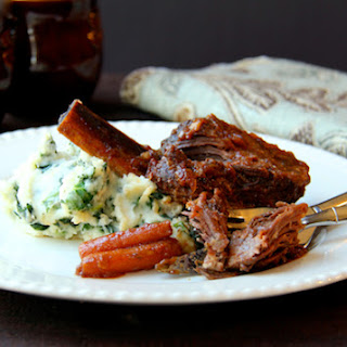 Stout-Braised Beef Short Ribs and Colcannon