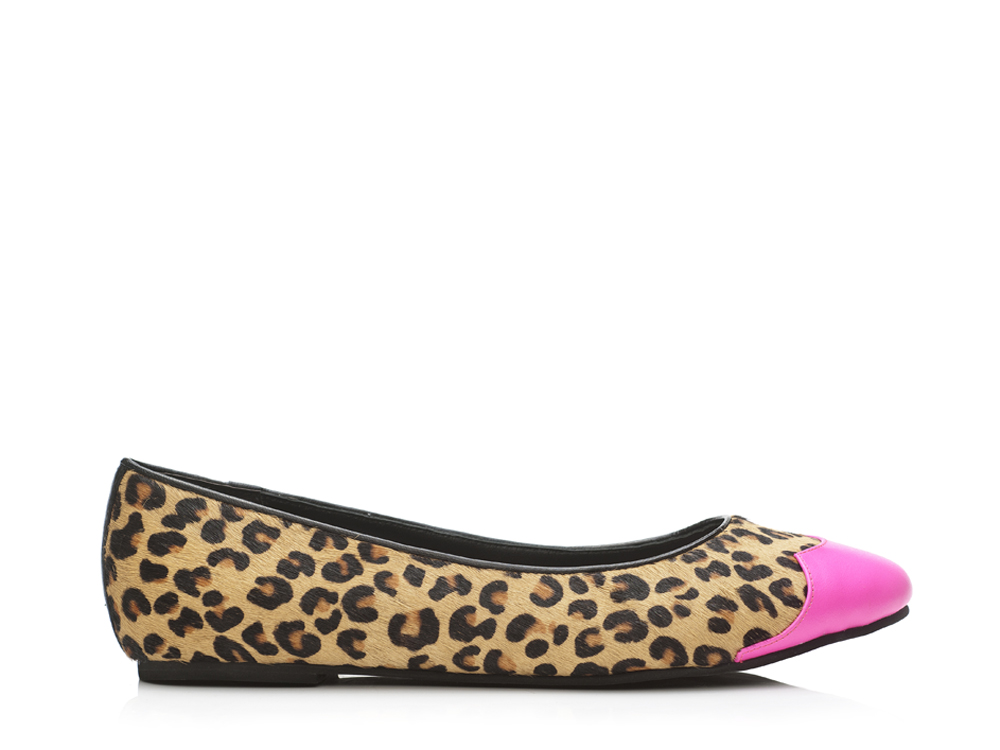 Shoes Leopard and Pink Ballet Flats