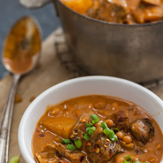 Slow Cooker Beef & Bean Stew