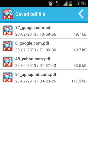 Website TO PDF PRO - screenshot