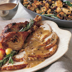 Roast Turkey with Prosciutto-Hazelnut Crust