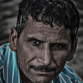First Friend by Rohan Gupta - People Portraits of Men ( truth, innocence, good, first, friend, first friend,  )