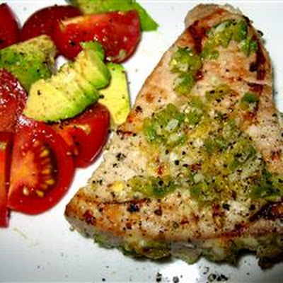 Grilled Jalapeno Tuna Steaks